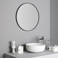 STEEL FRAME MIRROR